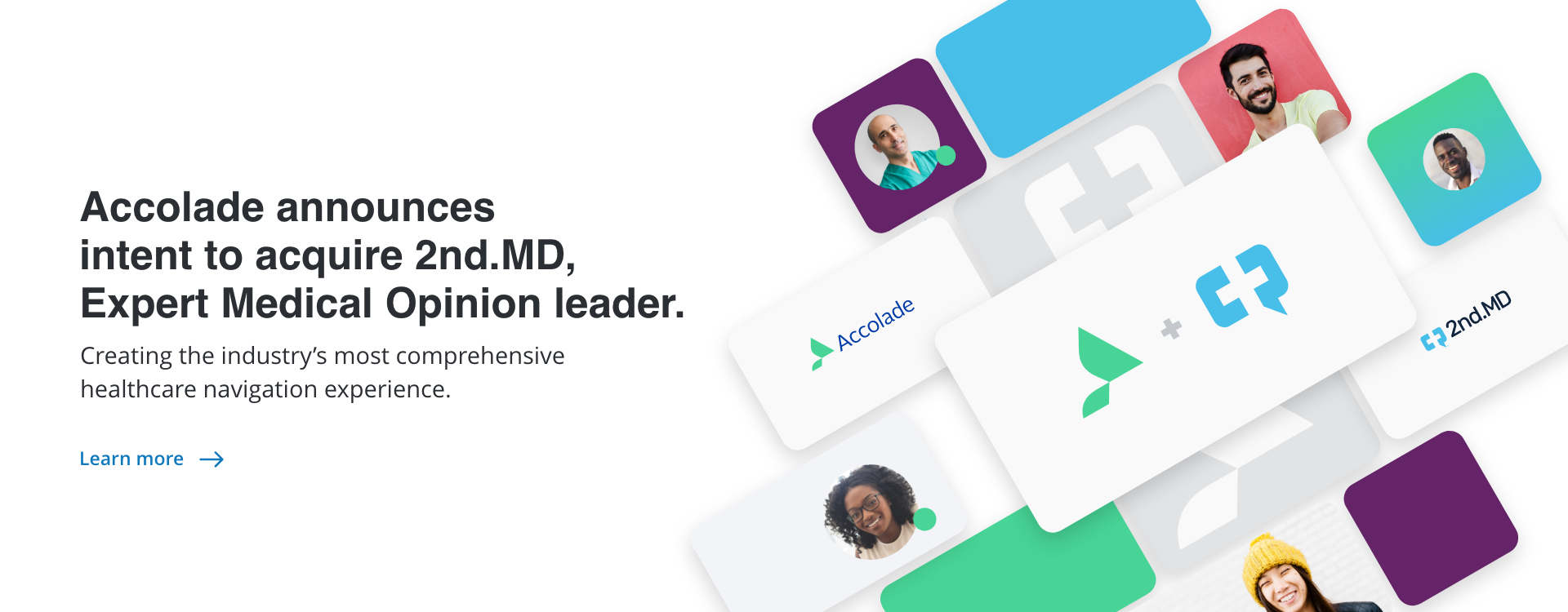 Accolade announces intent to acquire 2nd.MD, Expert Medical Opinion leader.