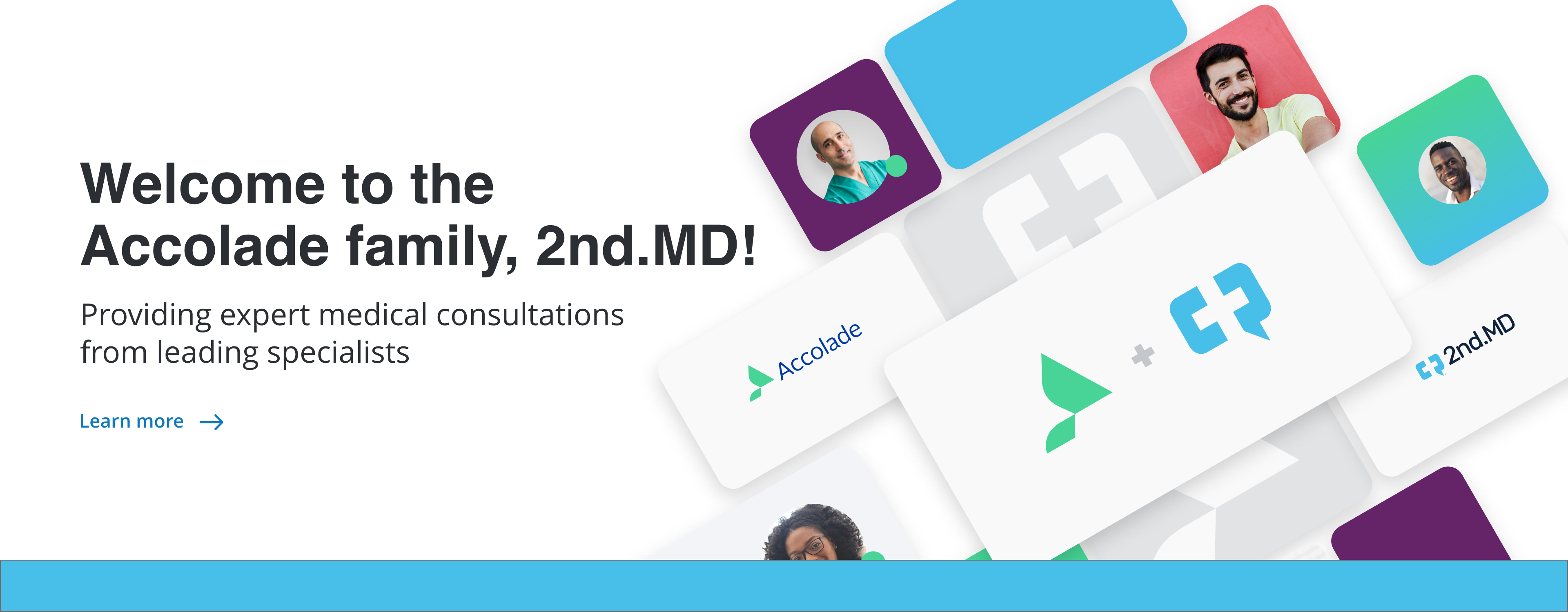 Learn more about 2nd.MD joining the Accolade family